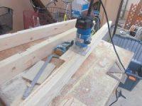 日曜大工教室~基礎からやり直し編~ 簡易治具でトリマー加工/どこまでもアマチュア