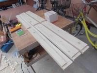 日曜大工教室~基礎からやり直し編~ 床板3本切り出し完了/どこまでもアマチュア