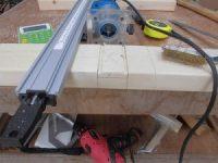 日曜大工教室~基礎からやり直し編~ システムバークランプ24″を使って溝を掘り進む/どこまでもアマチュア
