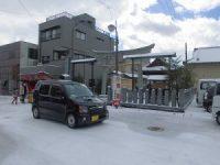 木田神社正面近く