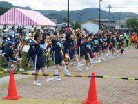 開成中学校ブラスバンドの応援