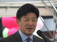 大野市議会議長 山崎 利昭(やまざき としあき)氏