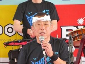 越前大野和太鼓「祥雲」代表 山内 廣志氏