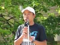 スターター台の荻原 健司氏