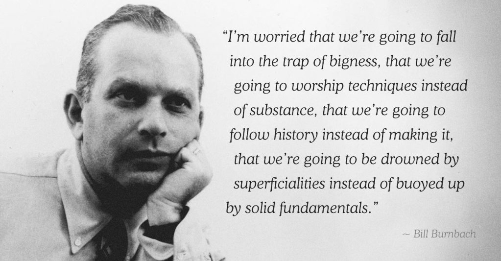 Bill Bernbach on Technique, Substance & What Makes Advertising Great