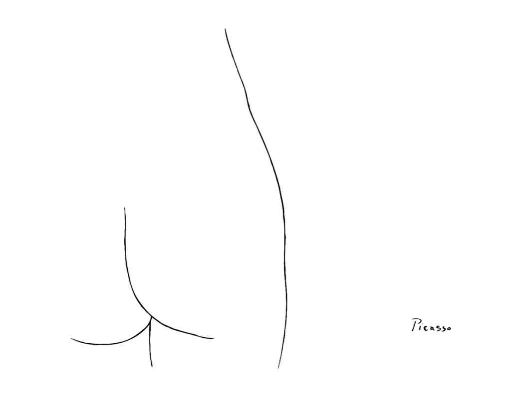 Picasso Drew a Butt, You Guys
