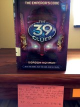 39 Clues #8: The Emperor's Code, reviewed by Akhare