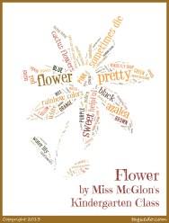 Miss McGlon's Kindergarten Class - Flower