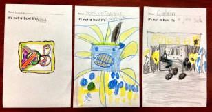 a few from Miss McGlon's kindergarten
