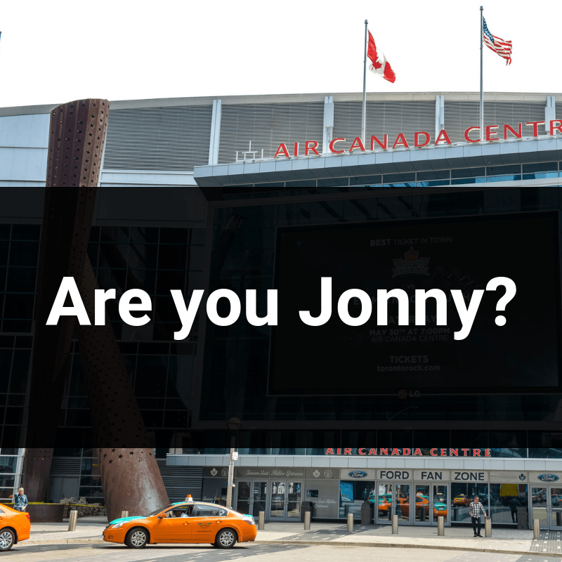 are you jonny sign