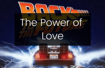 power of love back to the future