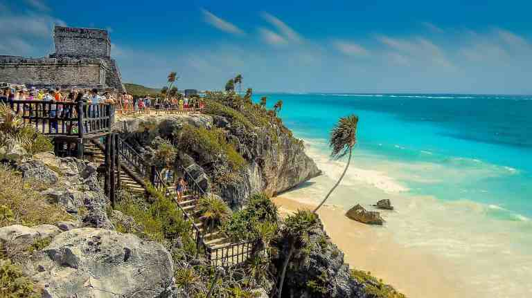 the best time to visit tulum ruins beach