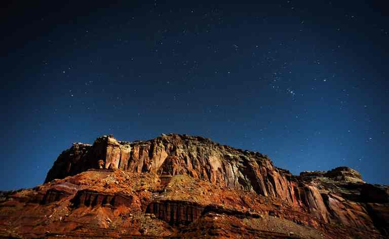 canyonlands stars