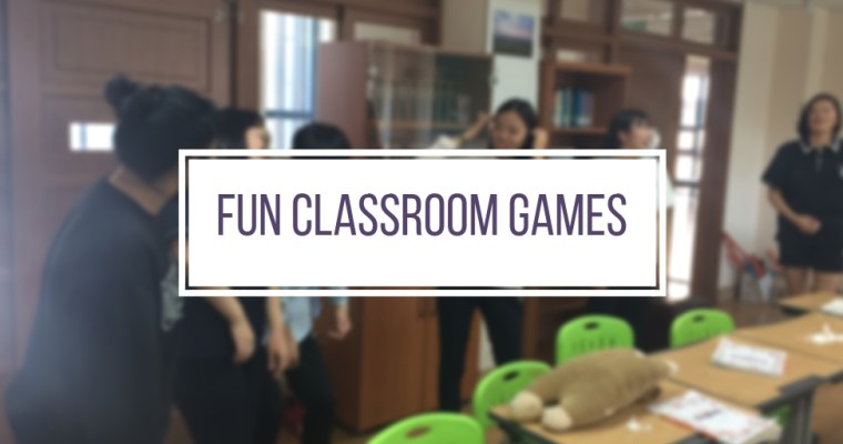 Fun Games For The Classroom