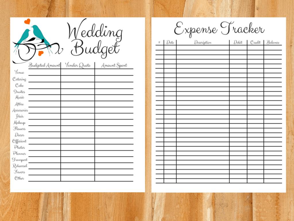 Setting A Wedding Budget Realistically