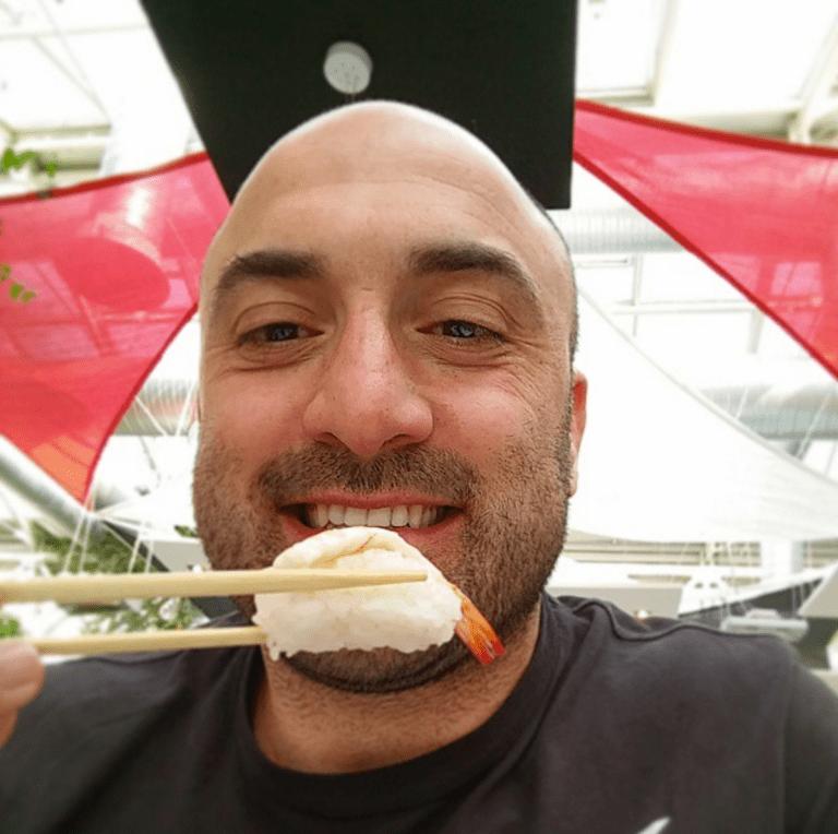 Inspector Angelo Alunni sushi night Tursenia