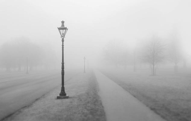 fog, foggy weather, foggy tursenia
