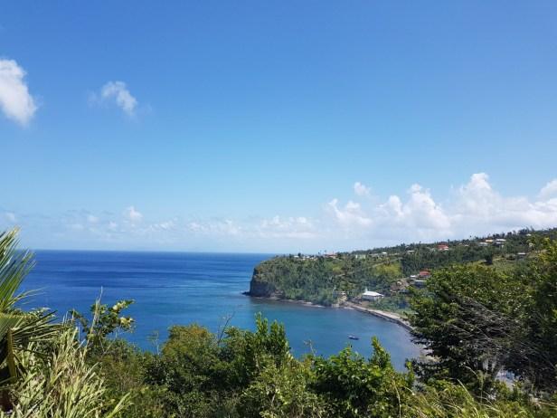 Das ist die Bucht, in der wir unseren freien Tag verbrachten