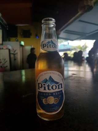 Piton beer St Lucia