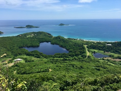 Blick vom Welcome Stone (Quelle: Caribbeanandco