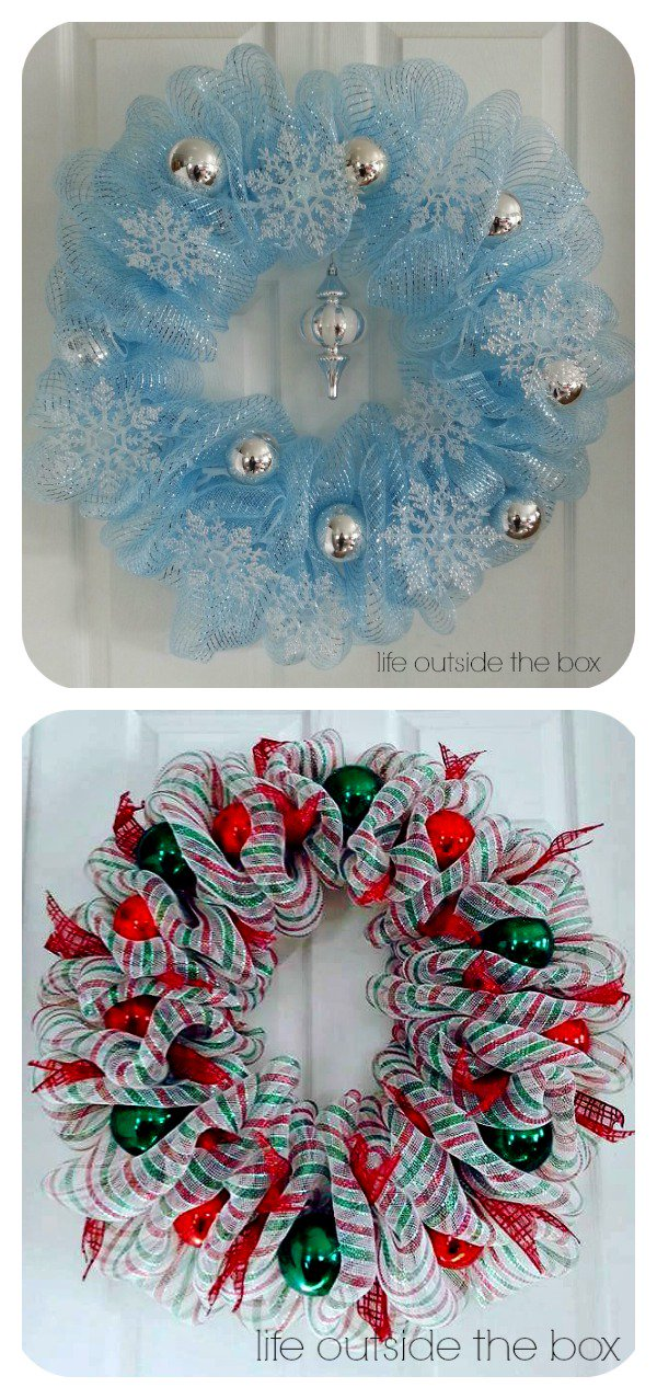 50 Festive Wreaths To Deck Your Door For The Holidays