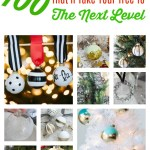 100 DIY Ornaments That'll Take Your Tree To The Next Level