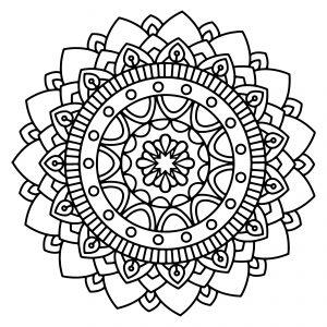 Free Printable Mandala Coloring Sheets
