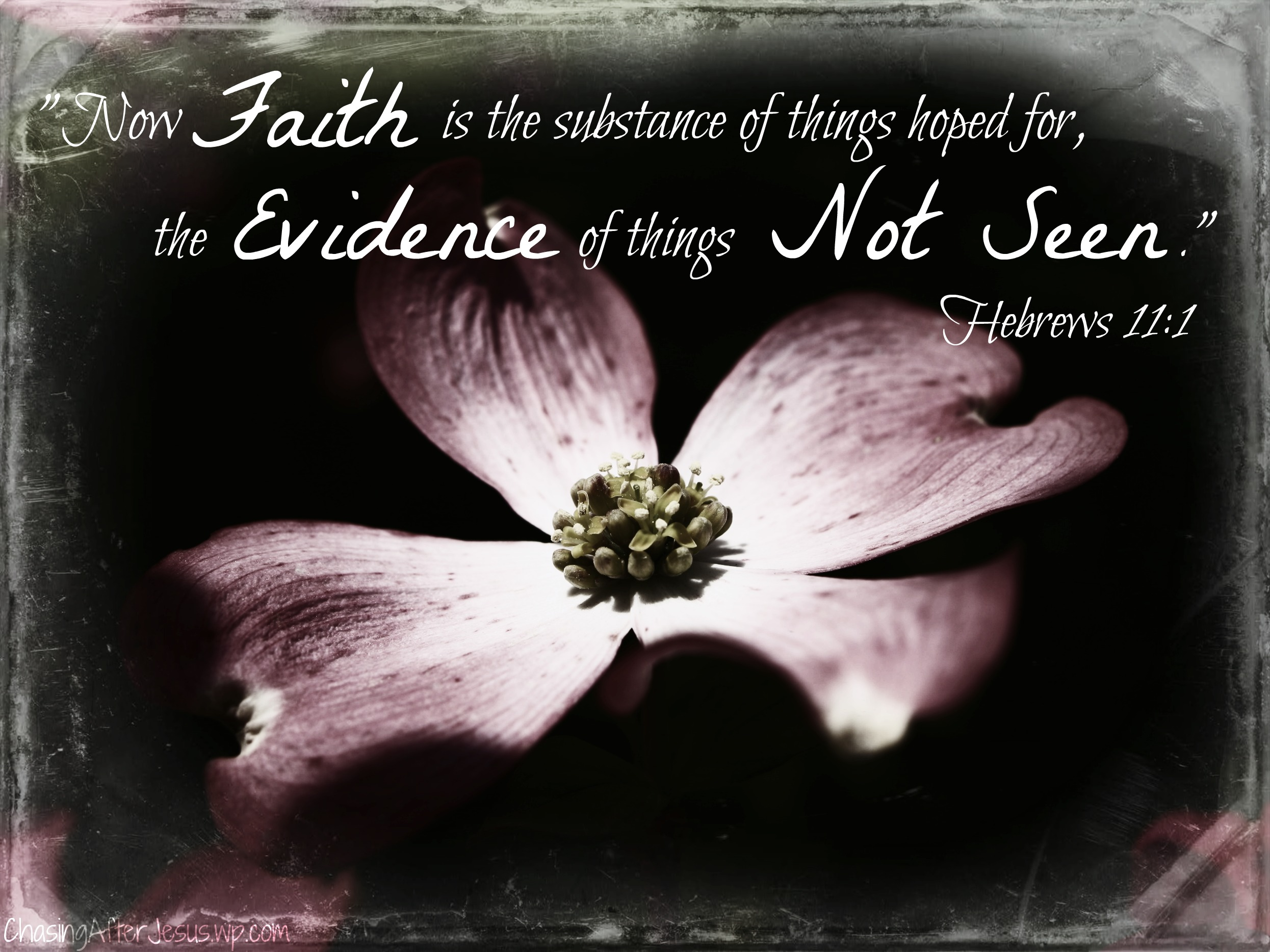 Having Faith Its Pretty Important  Chasing After Jesus