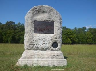 86th Infantry Memorial Marker