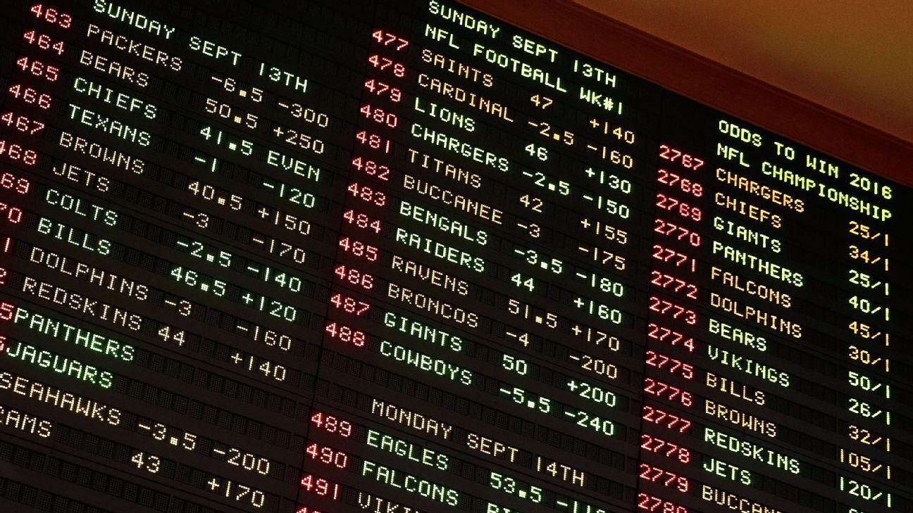 sportsbooks odds