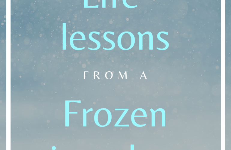 Life Lessons from a Frozen sing-along