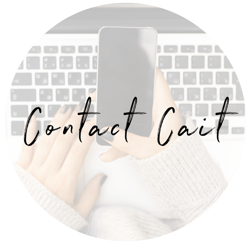 Contact Cait transparent