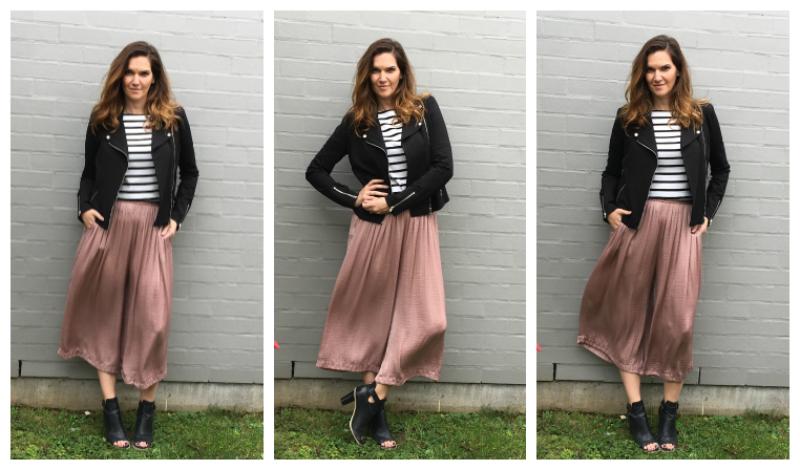 Fab Find: Zara Blush Pink Culottes