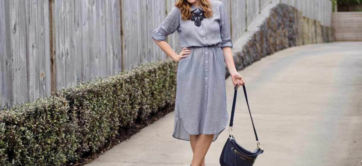 1 Item, 3 Ways: The Button-Through Dress
