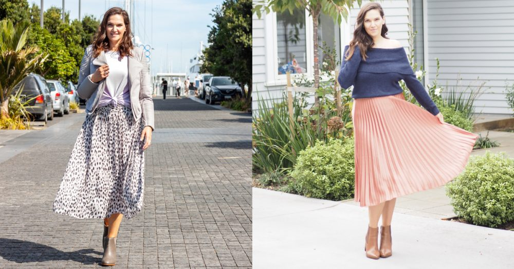 Style Lesson: How to wear a pleated skirt