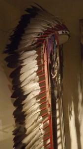 Sitting Bull's headdress