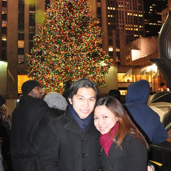 Rockefeller Christmas Tree at Midnight