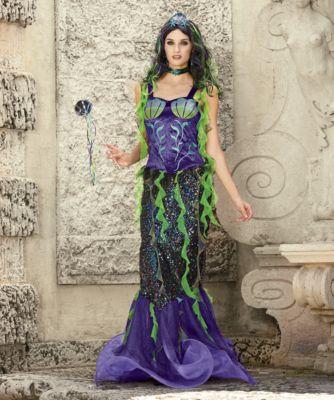 Evil Mermaid Costume