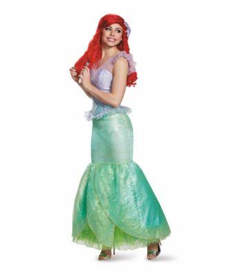Ariel Costume Women Teal 8-10 Chasing Fireflies