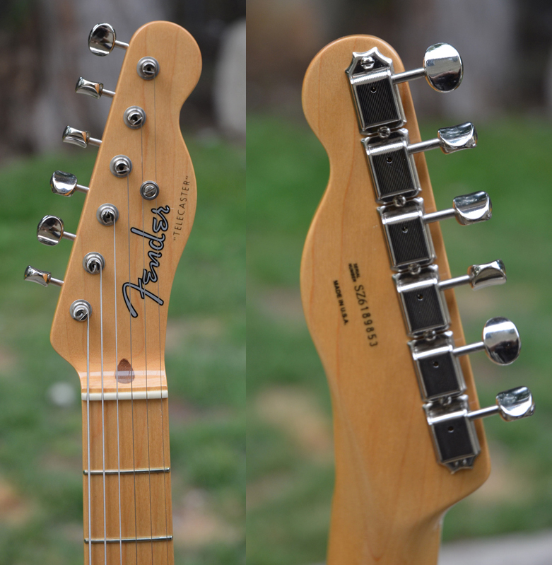 GE Smith Telecaster Headstock