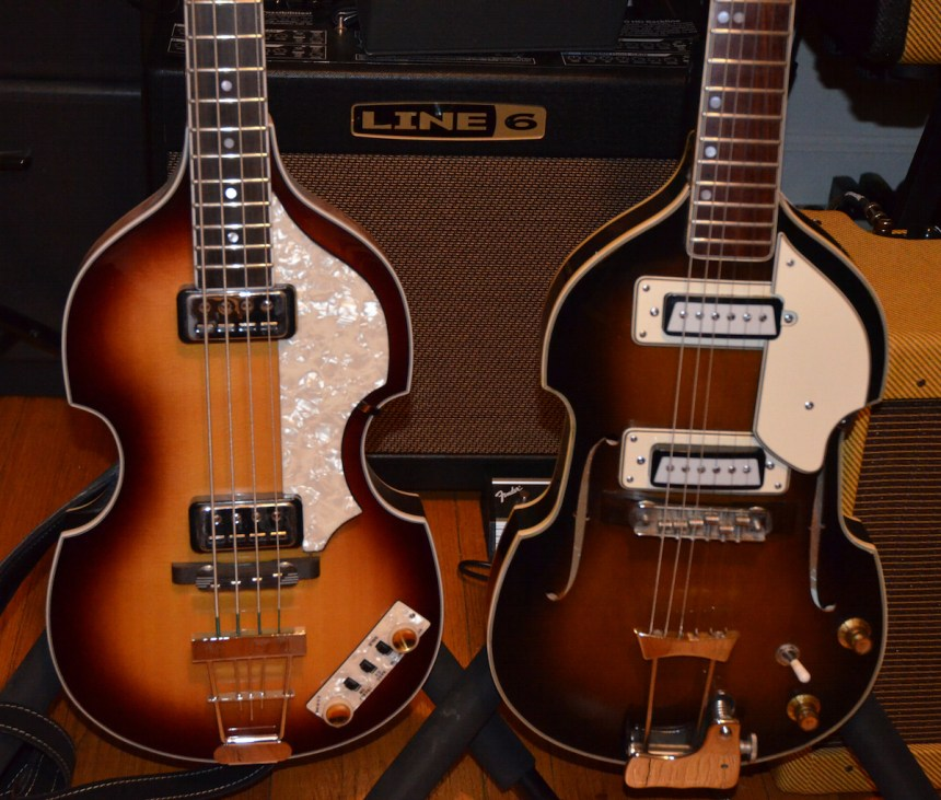 Hofner Beatle Bass and Cameo 6 string