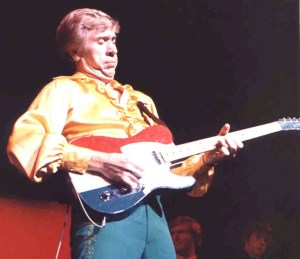Buck Owens with his famous Telecaster