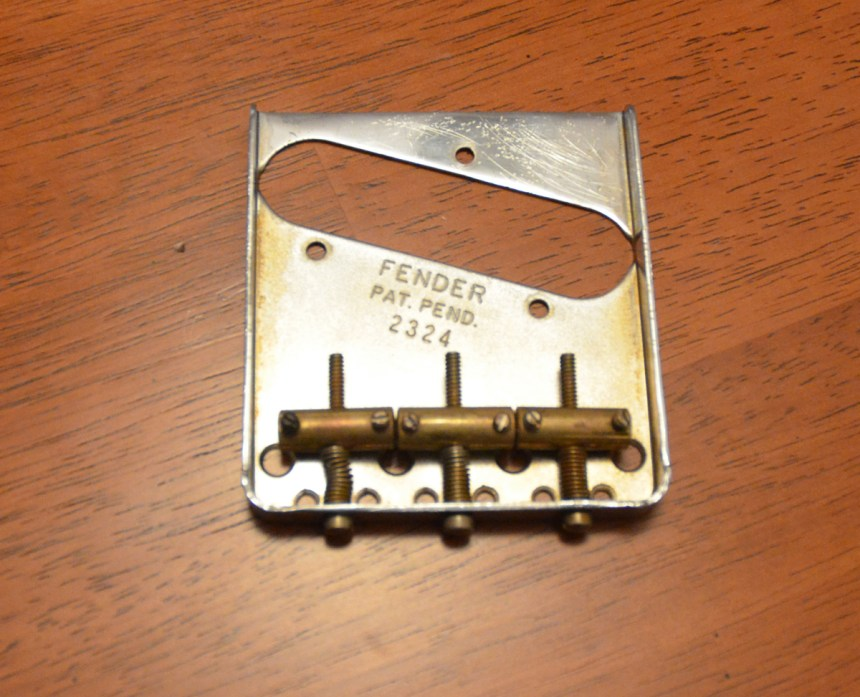 Stamped serial number like Fender used in the 1950s