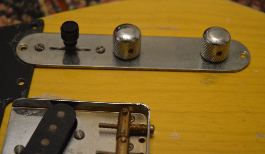 Laying out control plate