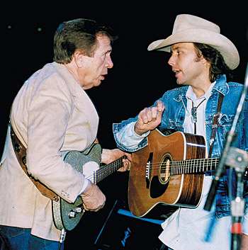 Buck Owens and Dwight Yoakam