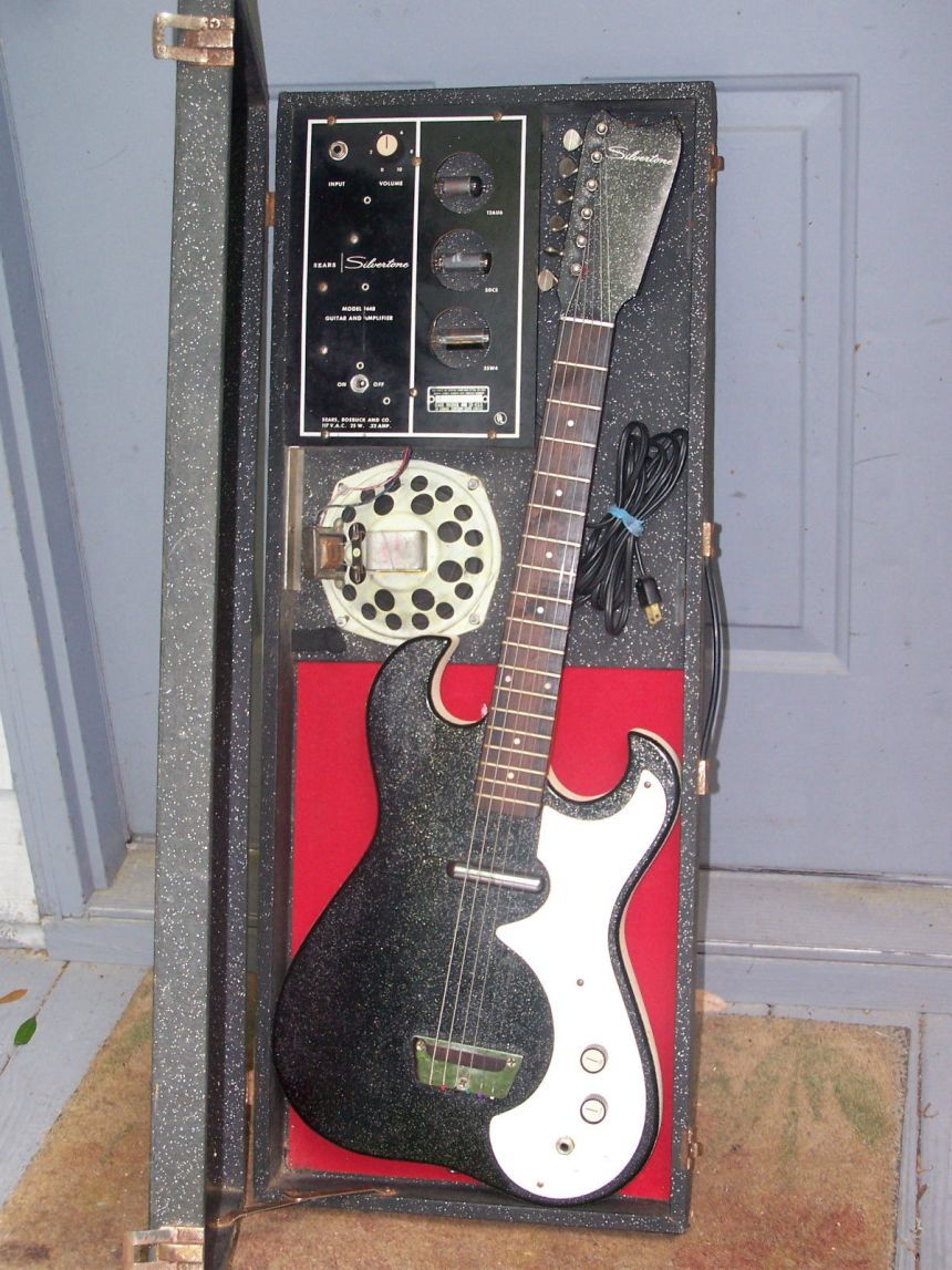 Amp in Case - My First Electric Guitar