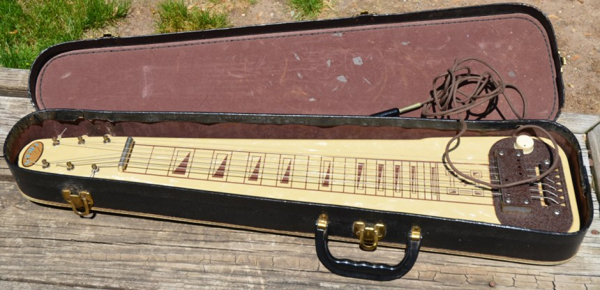 1957 Kalina Lap Steel made by Valco