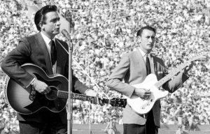 Johnny Cash and Luther Perkins