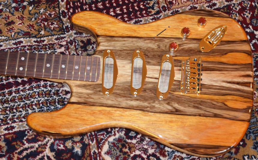 Mounted Fender Rosewood neck