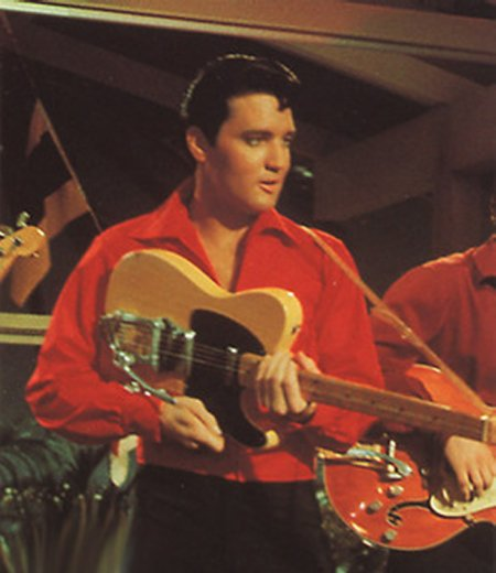 Even Elvis liked the Telecaster